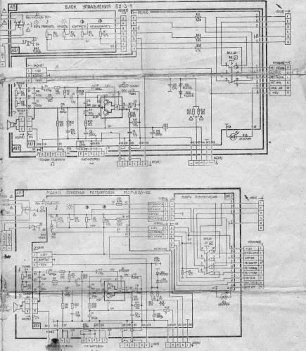Блок керування БУ-3 - Схема телевизора бесплатно - Каталог статей - Радіоаматор.